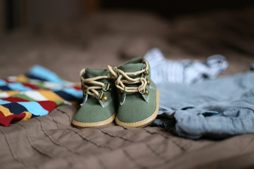 baby shoes, shoes, footwear